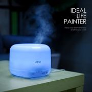 *72h ONLY*500ml Aroma Essential Oil Diffuser Humidifier, 7 Colours