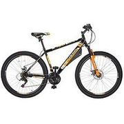 BOSS Spectre Mens Bike 18-Speed Revoshift, Double Disc Front Suspension, MTB