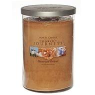 Yankee World Journeys Bavarian Pretzel Large Jar Twin Wick Tumbler 566g