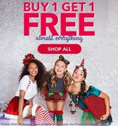 Buy One Get One Free on Almost Everything at Claire's Accessories