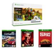 Xbox One S, Minecraft, Red Dead Redemption 2, Tekken 7 & Project Cars 2 Bundle