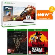 Xbox One S 1TB with Forza Horizon 4 + RDR 2 + Elder Scrolls Online 18%off