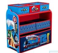 Delta Children Wooden Frame Multi-Bin Toy Organiser - Thomas the Tank Engine