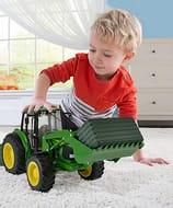 John Deere Tractor and Loader