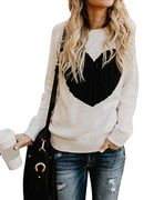 Women's Shermie Heart Knitted Jumper at Amazon Today 5:30PM to 11:30PM