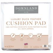Downland Luxury Duck Feather Cushion Pad