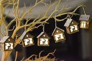 Valery Madelyn Christmas Wooden Fairy Lights Christmas 'deer design'