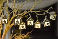 Valery Madelyn Christmas Wooden Fairy Lights Christmas Tree 'Star Design'
