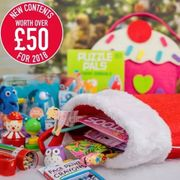 Pre Stuffed Christmas Stockings worth £50 for £15!