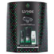 Lynx Africa Trio with Powerbank Charger Gift Set