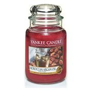 Yankee Candle Large Jar Candle, Moroccan Argan Oil