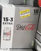 Diet Coke 18 X 330ml Cans - £2.50 Instore at Tesco Express (Leicester)