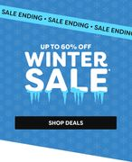 Up to 60% off in the Winter Sale