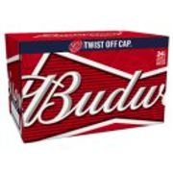 24x330ml Twist Cap Budweiser