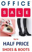 Love Shoes? Love Boots? Love a Good Sale? OFFICE SHOES SALE