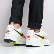 Nike Air Skylon II Shoes White/Black/Volt/Habanero Red