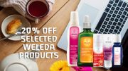 20% off Selected Weleda Face and Body Care