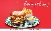 Frankie & Benny's (Up to 61% Off) Meal