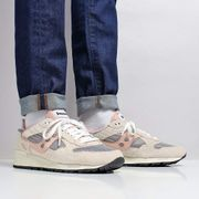 Saucony Shadow 5000 Vintage Shoes off White/Grey/Pink