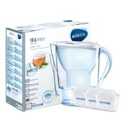 Brita Maxtra+ Marella Water Filter Jug Starter Pack White