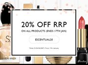 20% off Sitewide at Escentual
