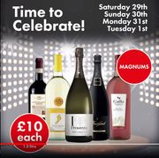 Magnums of Wine & Prosecco for £10