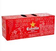 Grab 10 Cans of Estrella for Just £8.99!