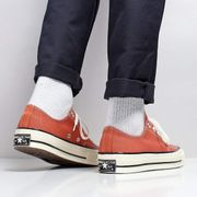 Converse Chuck Taylor All Star 70 Ox Shoes Terracotta Red/Black/Egret