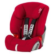 Britax Evolva Group 1-2-3 Flame Red Car Seat