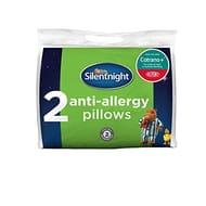 Silentnight Anti Allergy DuPont Pillow Pair - White
