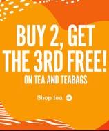 Buy 2 Teas Get 3rd Free