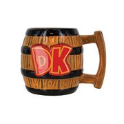 Donkey Kong Barrel Shaped Mug at Amazon