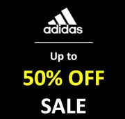 Up to 50% off ADIDAS SALE