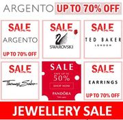 JEWELLERY SALE - up to 70% OFF PANDORA, SWAROVSKI, TED BAKER...at Argento