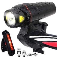 Lightning Deal + Voucher- AOMEES LED Smart Sensor Bike Lights
