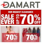 Damart BIGGEST EVER CLEARANCE SALE - on NOW