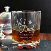 Personalised No.1 Dad Tumbler (Early Fathers Day Gift Started)