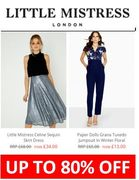 WORTH A PEAK! Fabulous Deals on Dresses. Up to 80% off