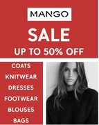 MANGO SALE - up to 50% OFF