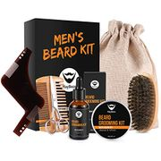 Beard Balm Kit MayBeau Beard Grooming Kit for Men