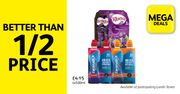 Lucozade Sport 4 Pack Drinks, Only £2