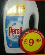 105 Wash Persil Non Bio Liquid