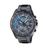 Casio Edifice Men's IP Stainless Steel Grey Bracelet Watch