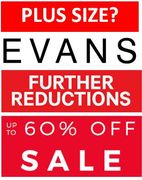 PLUS SIZE CLOTHING - FURTHER REDUCTIONS at EVANS - up to 60% off NOW