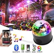 Bluetooth Speaker Disco Ball