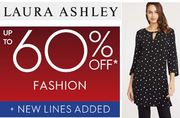 Laura Ashley FASHION - up to 60% off NOW!