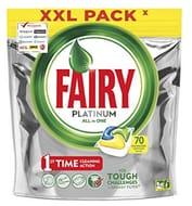Fairy Platinum Dishwasher Tablets Lemon, 70 Tablets Only £9