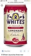 R Whites Raspberry Lemonade 6 X 330ML Cans