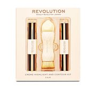 Revolution Crme Highlight Amd Contour Kit - Fair