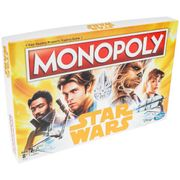 Star Wars Han Solo Monopoly Board Game 33%off at 365games